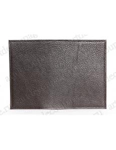 Заготовка обложка на паспорт, натуральная кожа, цвет коричневый, 13,0х19,0 см