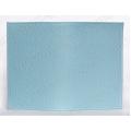 Заготовка обложка на паспорт, натуральная кожа, цвет светло голубой, 13,0х19,0 см