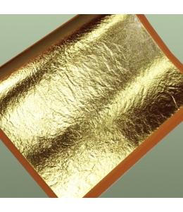Поталь для золочения, Золото, книжка 14х14, 10 листов