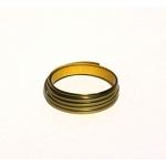 Витражная лента Золото самоклеящяяся, 3,5 мм х 2м