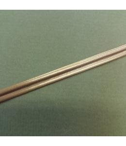 Витражная лента самоклеящяяся двойная Бронза, 3 мм х 1м