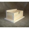 Заготовка коробка под концелярские мелочи, сосна, 16,5х11,5х8 см, Россия