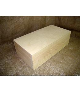 Заготовка коробка из сосны 33х16,5х10 см, Россия