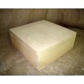 Заготовка коробка со съемной крышкой средняя, сосна, 26х26х10 см, Россия