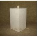 Заготовка коробка для сыпучих продуктов большая, фанера, 10х10х20 см, Россия