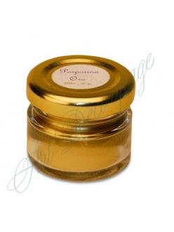 Порошок для патинирования, затирания кракелюр и золочения Porporina золотой, 30 мл, Stamperia