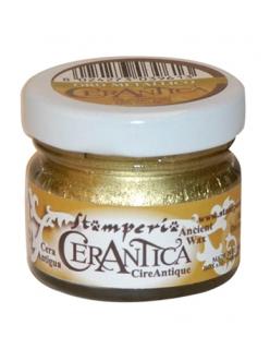 Воск золотой металлик Cera Antica, для металлического эффекта и патинирования, Stamperia K3P15G