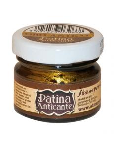 Паста для патинирования Patina Anticante K3P16AG, старое золото, Stamperia, 20 мл