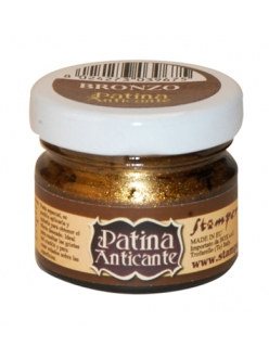 Паста для патинирования Patina Anticante K3P16B, бронза, Stamperia, 20 мл