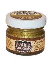 Паста для патинирования Patina Anticante K3P16G, золото, Stamperia, 20 мл
