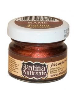 Паста для патинирования Patina Anticante K3P16R, медная, Stamperia, 20 мл