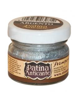 Паста для патинирования Patina Anticante K3P16S, серебро, Stamperia, 20 мл