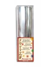 Поталь в рулоне трансферная, цвет серебряный,12х200 см, Stamperia (Италия)