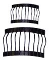 Миниатюрные балконные решетки для декора черепицы, купить - магазин АртДекупаж