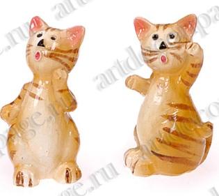 Декоративные элементы для кукольных миниатюр Кошки, клеевое крепление - магазин АртДекупаж