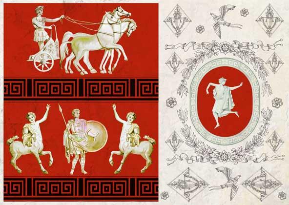 Декупажные карты Calambour Древний Рим