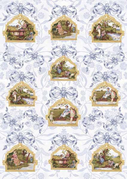 Декупажные карты Calambour CAL/F 219 Английские миниатюры