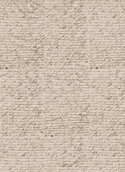 Рисовая бумага для декупажа Calambour Pau-036 текст