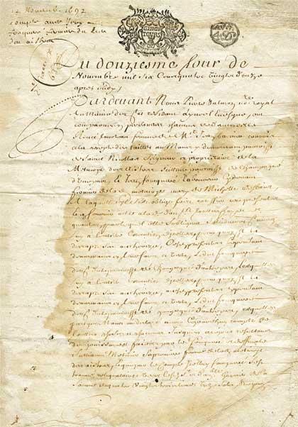Рисовая бумага для декупажа Calambour Pau-059 старое письмо