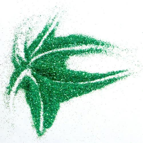 Микроблестки зеленый металлик для декора