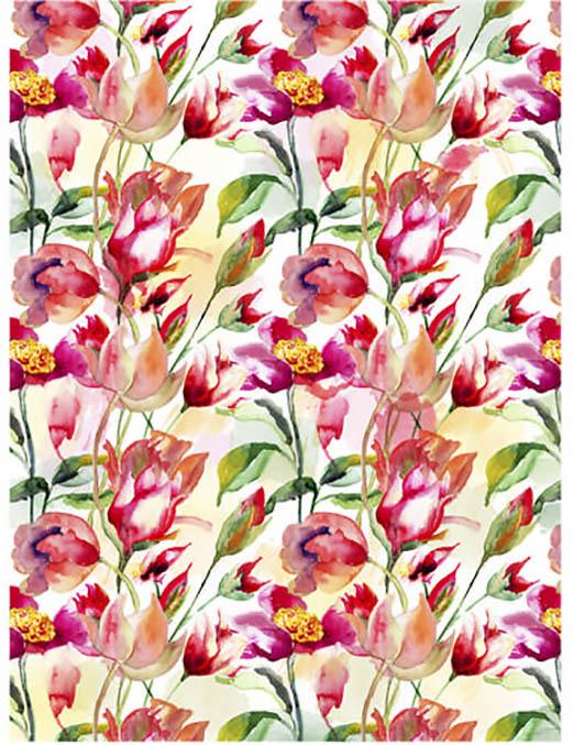 Рисовая бумага для декупажа Craft Premier Тюльпаны, АртДекупаж