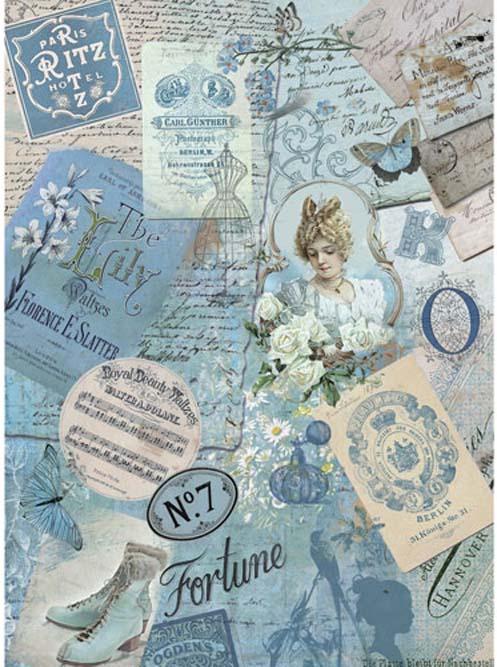 Рисовая бумага для декупажа Craft Premier Дорогие воспоминания