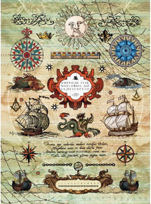 Рисовая бумага для декупажа Craft Premier Морское путешествие
