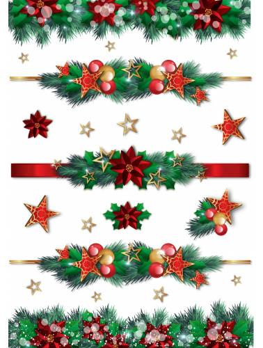 Рисовая бумага для декупажа Новый год Украшения на ёлке, АртДекупаж