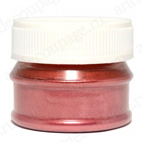 Порошок металлик красный для затирки кракелюра, патинирования Daily ART