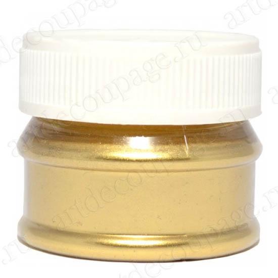 Порошок металлик золото для затирки кракелюра, патинирования Daily ART