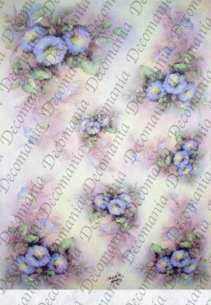 Рисовая бумага для декупажа Decomania Вьюнок, Sonie Ames, купить