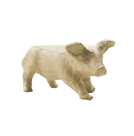Фигурка из папье-маше Свинья Decopatch AP614