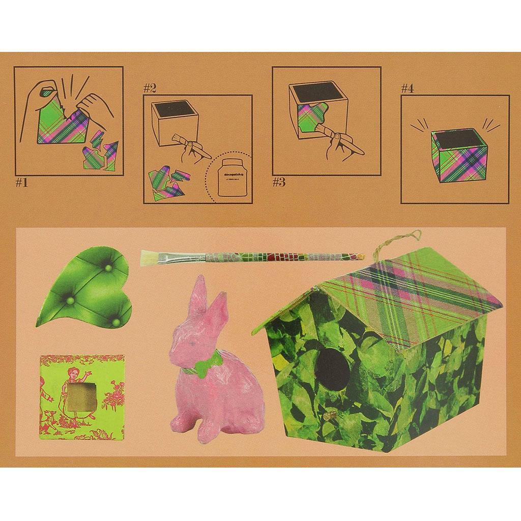 Бумага для декопатч блокнот Зеленый 15х15 см, 48 листов