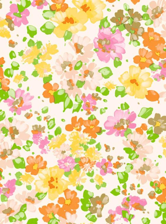Бумага для декопатча Акварельные цветы Decopatch FDA776