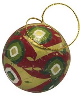 Заготовки шары елочные из папье маше, картона, Decopatch, декопатч, купить