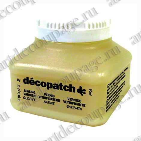 Лак глянцевый на водной основе для декупажа и декопатча Decopatch, купить - магазин АртДекупаж