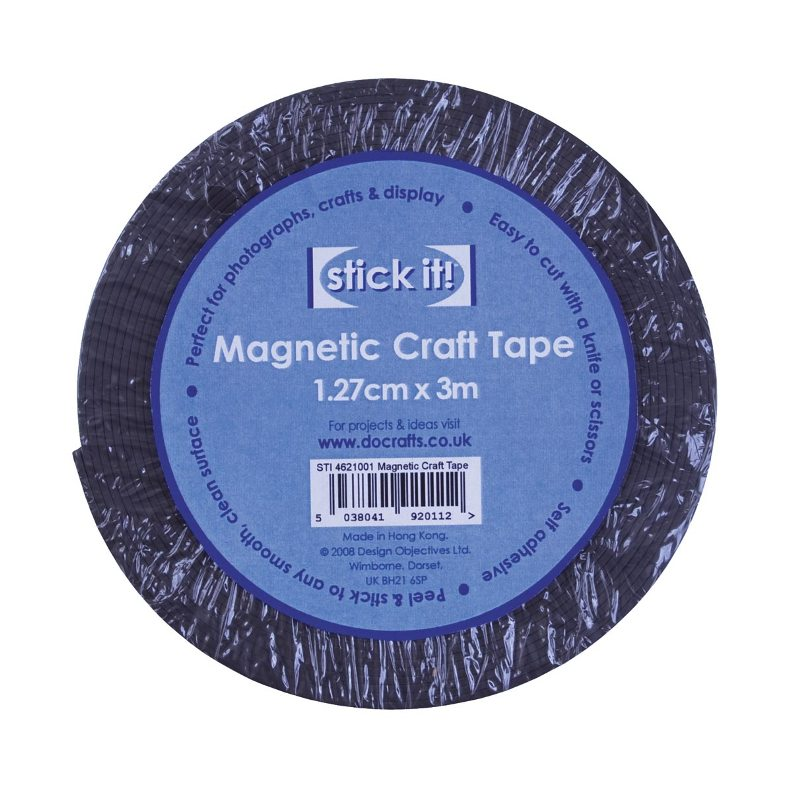 Магнитная лента  на клеевой основе, магнит самоклеющийся для творчества
