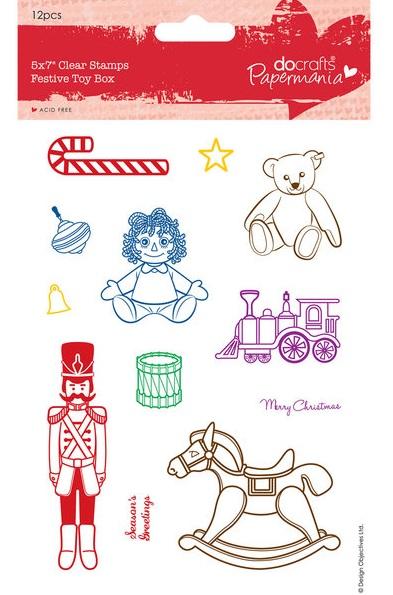 Новогодние штампы дляя скрапбукинга детские игрушки