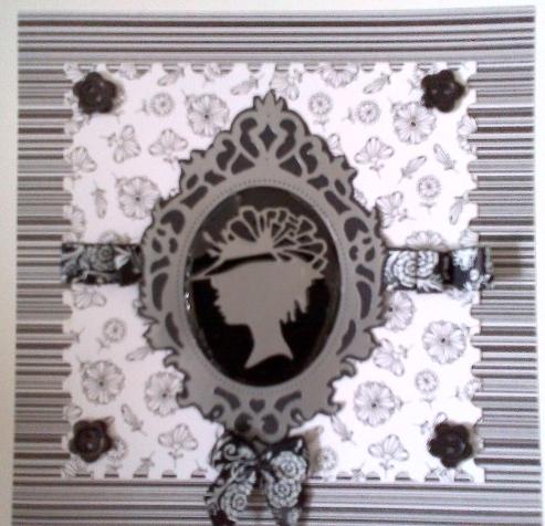 Декоративные мини-пуговицы цветочки, коллекция Bexley Black