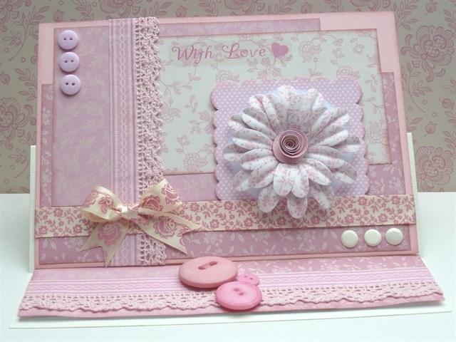 Декоративные клеевые ленты с рисунком для скрапбкинга Wild Rose, DoCrafts