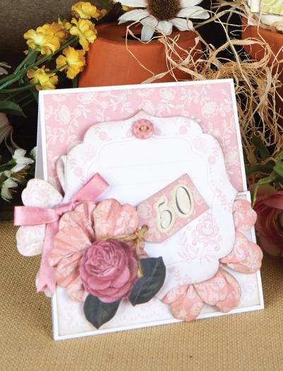 Высечки для скрапбукинга Кружевные винтажные рамочки Wild Rose