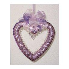 Заготовки из пенопаста, венок пенопластовый сердце, купить