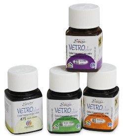 Витражные краски Vetro Color Esprimo Ferrario, краски по стеклу - магазин АртДекупаж