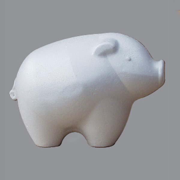 Фигурка из пенопласта Новогодняя свинья, АртДекупаж