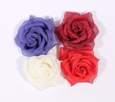 Декоративные цветы, розы для скрапбукинга, купить