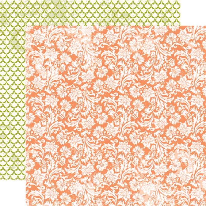 Бумага двухсторонняя для скрапбукинга Blooming Blossoms, Echo Park Paper