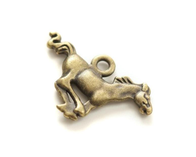 декоративные подвески для скрапбукинга и рукоделия металлические Лошадь