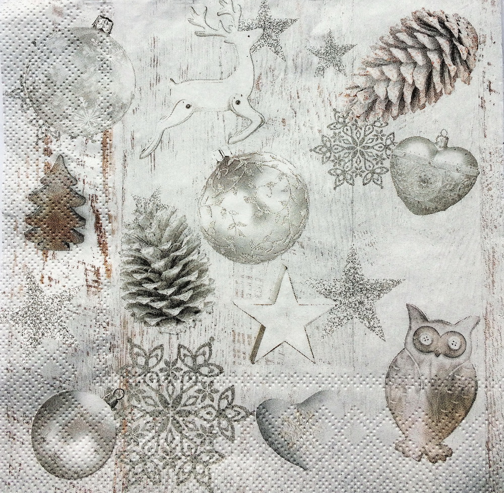Новогодняя салфетка Новогодние украшения