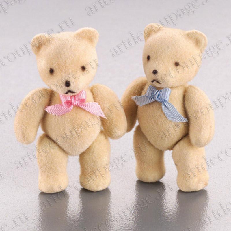 Декоративные фигурки Плюшевые мишки,маленькие игрушки для кукольных миниатюр, купить - магазин АртДекупаж