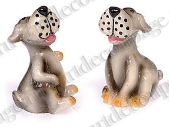 Декоративные фигурки Забавная собака, для объемных композиций и кукольных миниатюр, купить - магазин Арт Декупаж